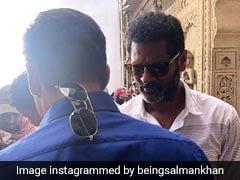On The Sets Of <i>Dabangg 3</i> With Salman Khan And Director Prabhu Deva