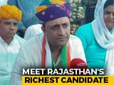 Video : Rajasthan's Richest Candidate, Textile Magnate, Is Vying For Ajmer's Vote