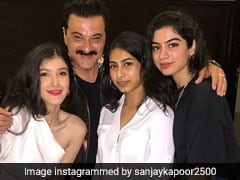 Khushi And Shanaya Are Sanjay Kapoor's TGIF 'Angels'. Pics Here