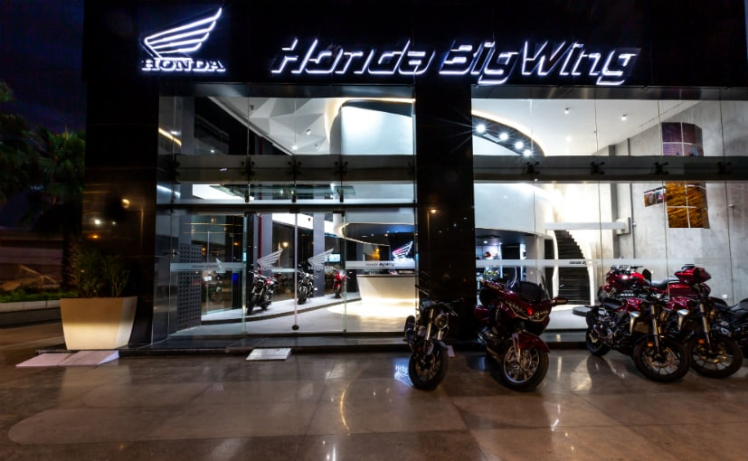 Honda BigWing retail vertical for premium motorcycles inaugurated