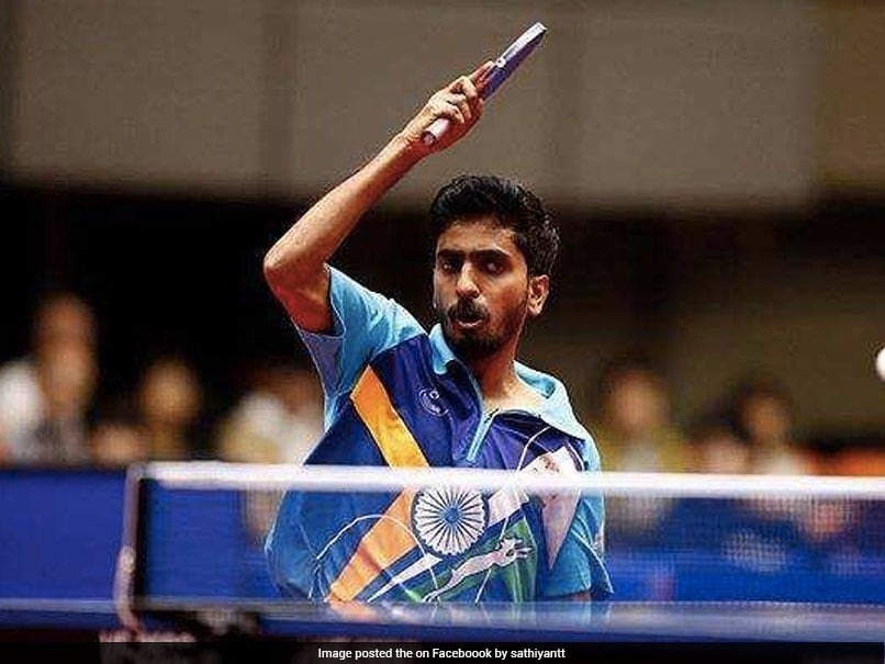 Table Tennis: Sathiyan Gnanasekaran aims to be in top 15 by end of 2019