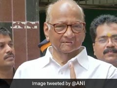 Sharad Pawar Votes In Mumbai, Urges People To Elect A Stable Government
