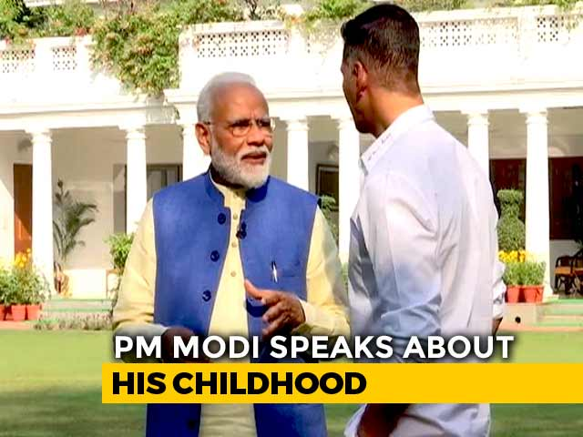 "Video : ""I Wear Half-Sleeve Kurtas Because..."": PM Reveals To Akshay Kumar"