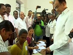 """""""All Religions Are Equal"""", Says P Chidambaram After Casting Vote"""