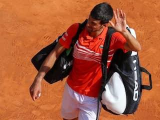 "Novak Djokovic Knocked Out As ""Lucky"" Rafael Nadal Battles On In Monte Carlo"