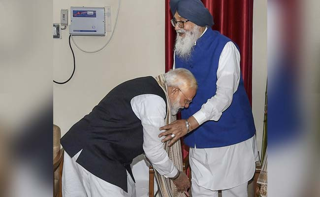PM Modi Dials Ex-Ally Parkash Badal To Wish Him On Birthday Amid Farmer Row
