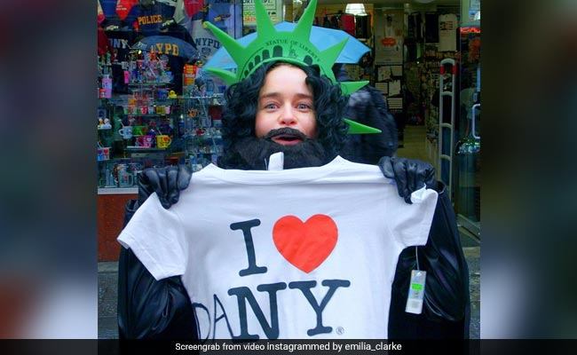 Game Of Thrones' Emilia Clarke Pranks New York, Goes Undercover As Jon Snow