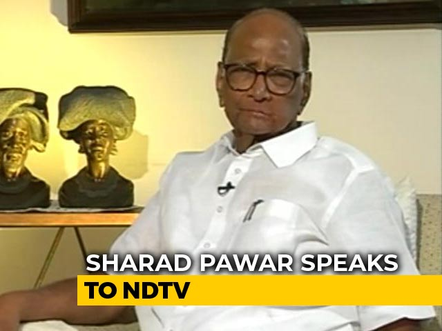 "Video : ""BJP Won't Get The Numbers To Bring Back PM Modi,"" Predicts Sharad Pawar"
