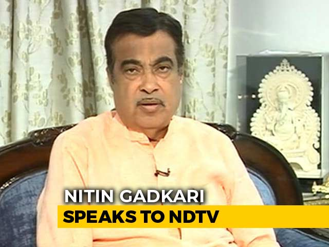 "Video : ""Should Respect Different Opinions"": Nitin Gadkari Echoes LK Advani"