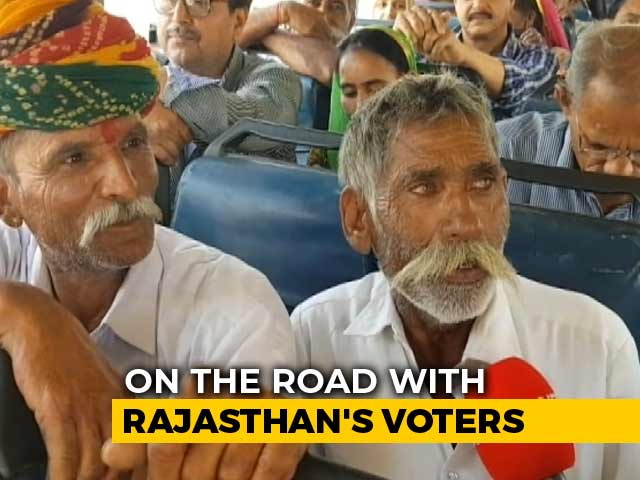 Video : A Bus Journey With Rajasthan Voters Across 8 Lok Sabha Constituencies
