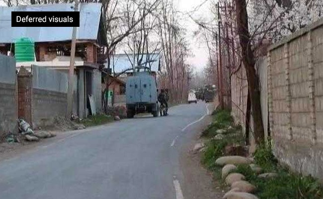 Image result for 3 Security Personnel Injured, 4 Terrorists Killed In J&K's Pulwama