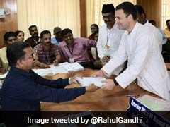 """Overwhelmed By Love,"" Tweets Rahul Gandhi After Wayanad Nomination"