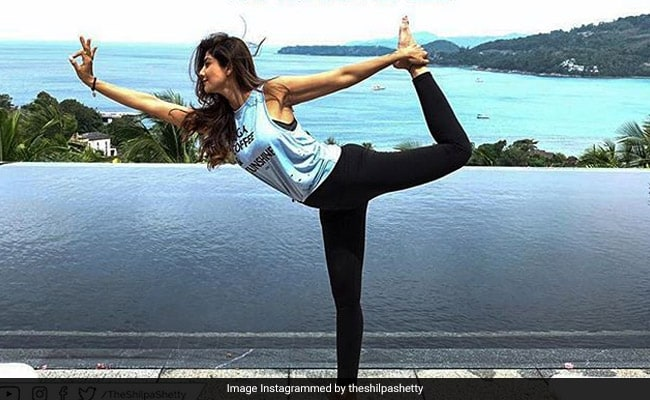 This Yoga Pose Helps You Burn Maximum Calories! Shilpa Shetty Kundra Does It And Here