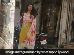 Deepika Padukone, Vikrant Massey Spotted Shooting For <I>Chhapaak</i> In Delhi