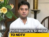 "Video : ""Decision Soon"": Jyotiraditya Scindia On Priyanka Gandhi's Varanasi Move"