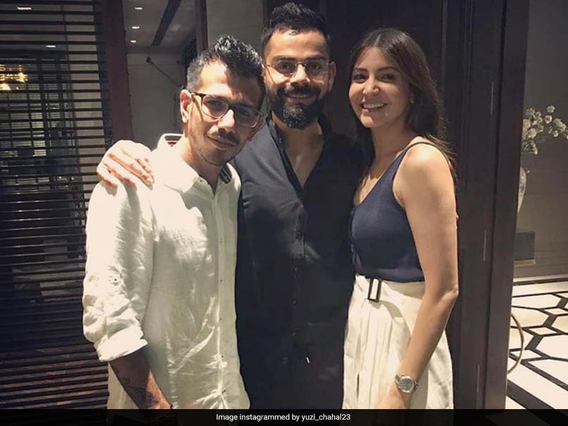 Virat Kohli, Anushka Sharma Turn Perfect Hosts For RCB Team Members