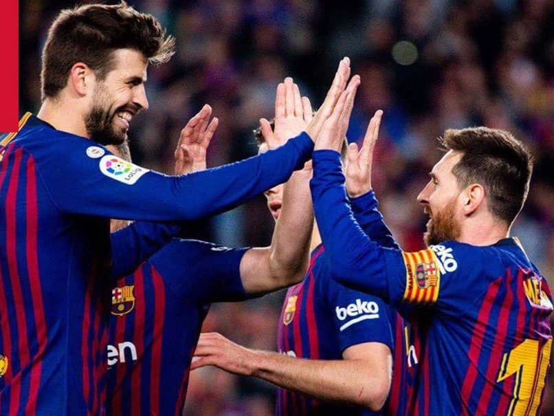 FOOTBALL: Barcelona wins Spanish league title 26Th time with Lionel Messi special record