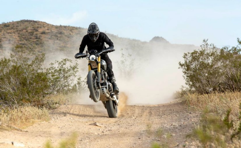 The Triumph Scrambler 1200 XE in near stock condition will be raced at the Mexican 1000