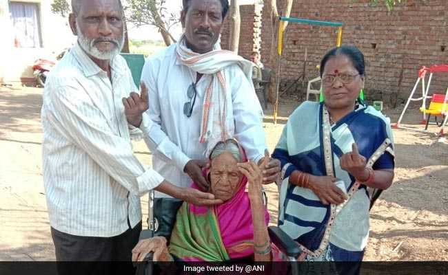 Maharashtra Woman, 105, Among Enthusiastic Elderly Voters In Phase 2