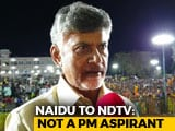 "Video : ""PM Modi, KCR, Jagan Mohan Reddy All Are One"": Chandrababu Naidu To NDTV"