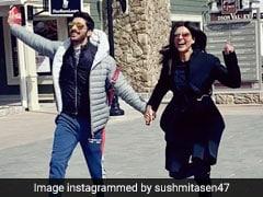 Sushmita Sen Or Boyfriend Rohman Shawl, Who Captioned This Mushy Pic Better?