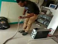 Snake Found Inside Tamil Nadu ATM. Watch Heroic Rescue Video