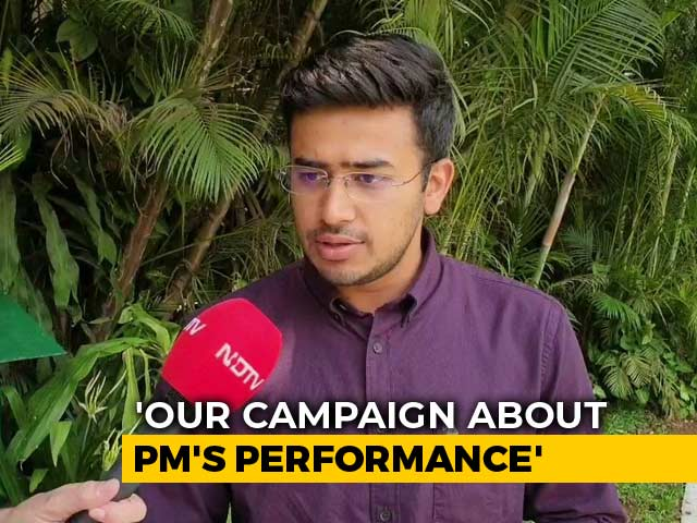 Video: Paramount Question Is Who Will Be PM, Says BJP's Youngest Candidate