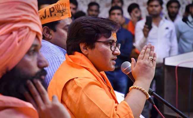 General Elections 2019: After Filing Poll Papers, Pragya Thakur Explains Why She Joined Politics