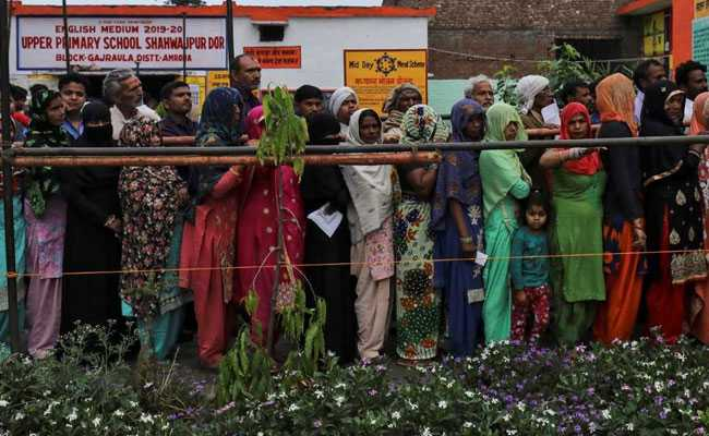 Second Phase Of Voting: Uttar Pradesh Records Over 62% Voter Turnout