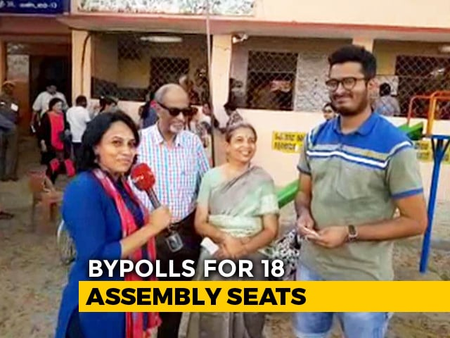 Video : Enthusiasm High As Voters From Abroad Turn Up At Chennai To Exercise Their Franchise
