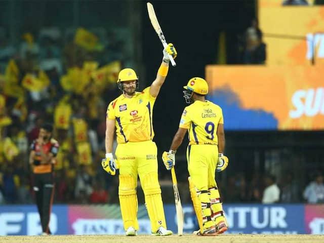 IPL Highlights, CSK vs SRH IPL Score: Shane Watson Steers Chennai Super Kings To 6-Wicket Win Over SunRisers Hyderabad