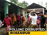 Video : Voting Disrupted After Violence Erupts In Manipur Polling Station