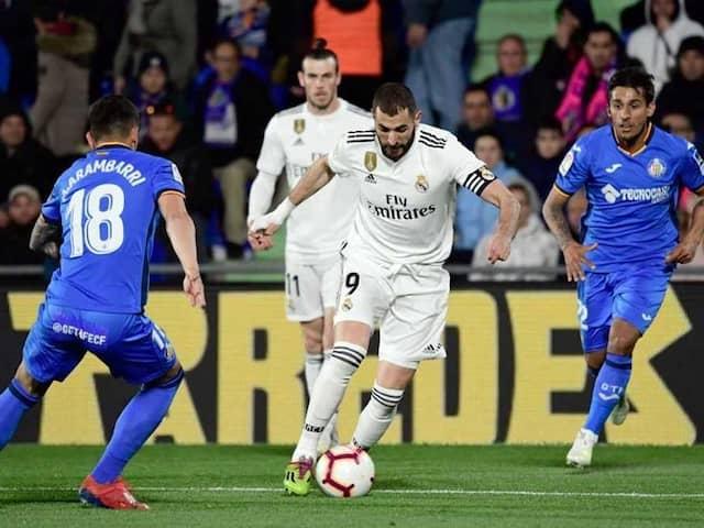 Struggling Real Madrid Held To Goalless Draw By Getafe In La Liga