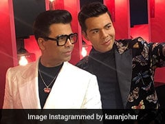 Meet Karan Johar's Wax Double At Madame Tussauds Singapore. Kajol, Shweta Bachchan Nanda Are Cheerleaders
