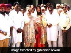 """Elections 2019: Manish Tewari Tweets """"Proud Moment"""" Pic As Daughter Campaigns For Him"""