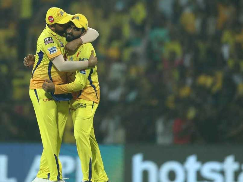 Watch: Suresh Raina Kisses Ravindra Jadeja After Ajinkya Rahane Dismissal