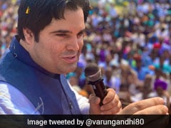 Varun Gandhi Leading From Pilibhit With Around 4,85,000 Votes