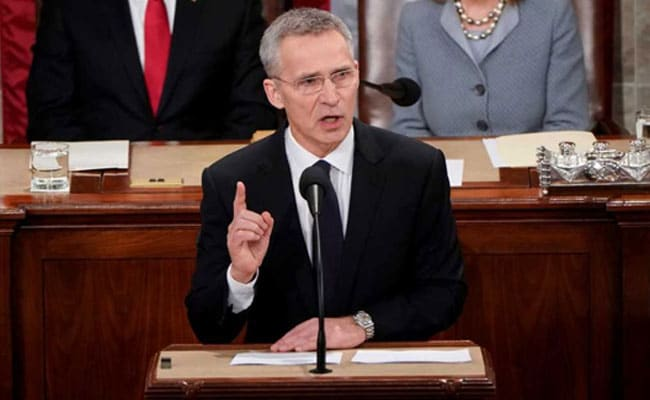 NATO Chief Warns Of Russia Threat, Urges Unity In US Address