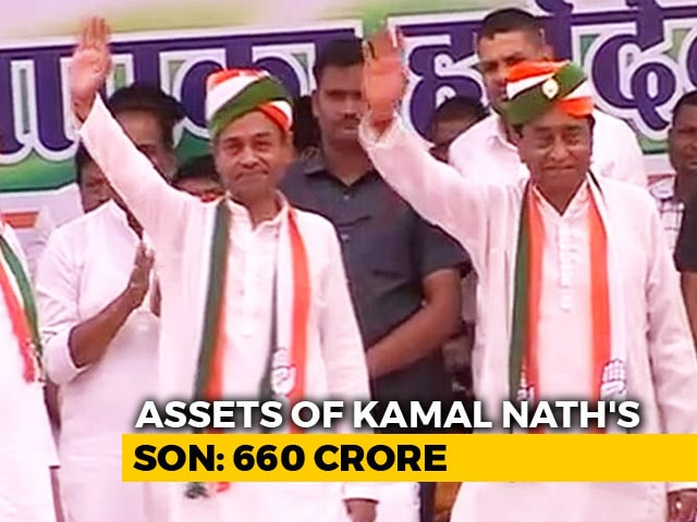 Video : Madhya Pradesh Chief Minister's Son Has Assets Worth Over Rs. 660 Crore