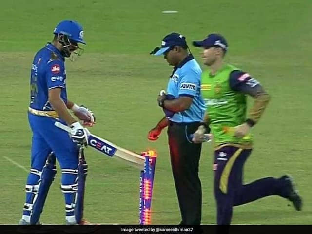 IPL 2019: Rohit Sharma Lost His Cool And React Against Umpires Decision