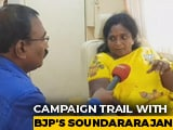 Video : BJP's Tamilisai Soundararajan Says Only DMK Has Anti-National Record