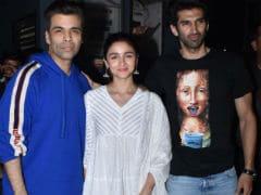 Alia Bhatt Watches <i>Kalank</i> With Ananya Panday, Janhvi, Khushi And Shanaya Kapoor