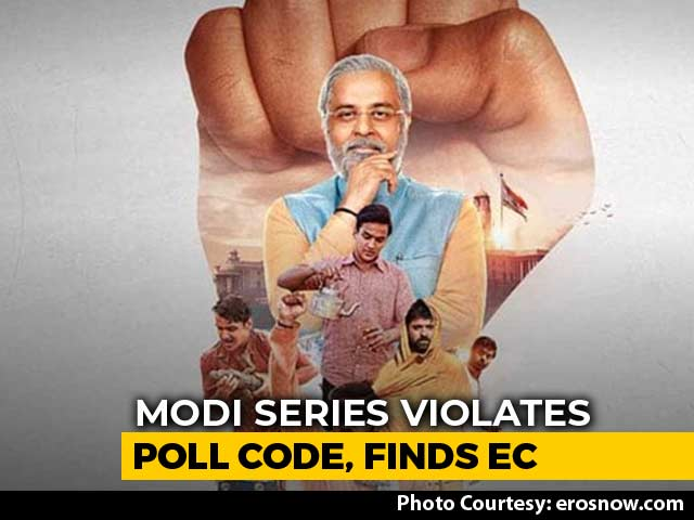 Video : Poll Body Orders Eros Now To Stop Streaming Web Series On PM Modi