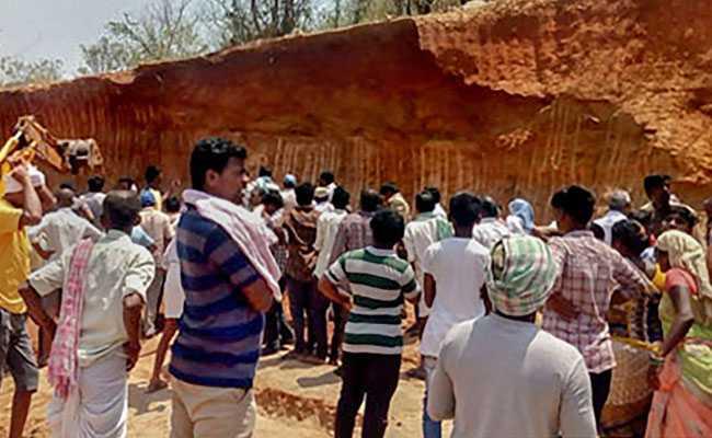 10 Workers Buried Alive Under Mound Of Mud In Telangana