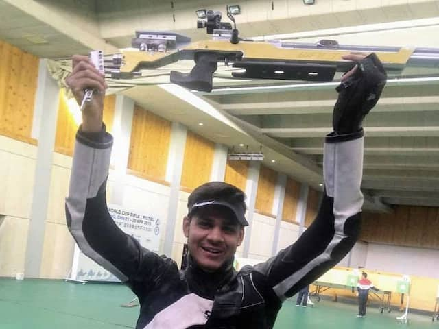 Divyansh Panwar, 16, Wins Silver Medal At Shooting World Cup, Secures Olympic Quota For India
