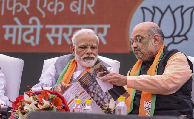BJP Manifesto Reiterates Stand On Scrapping Article 370, Article 35A