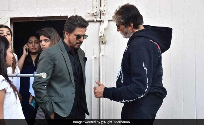 अमिताभ बच्चन और शाहरुख खान के बीच पार्टी के लिए छिड़ी जंग, बिग-बी गुस्सा होकर बोले- 'ओए...'