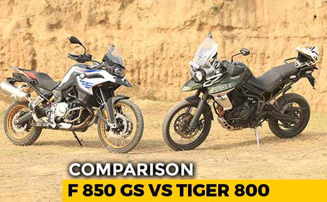 BMW F 850 GS vs Triumph Tiger 800 XCx Comparison Review