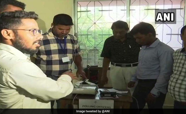 Voting For Odisha's Patkura Assembly Seat Underway