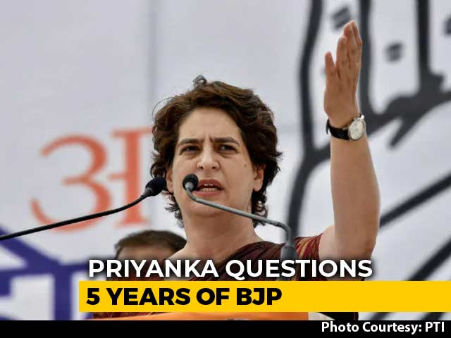 Video : Election 2019: BJP Obsessed With My Family, Says Priyanka Gandhi